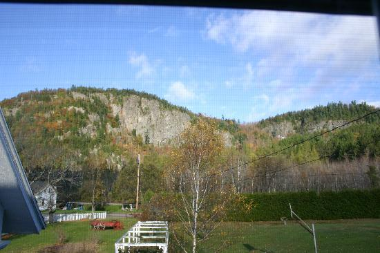 Stark, NH: View out the window