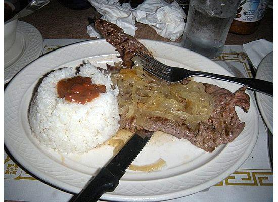 Siglo XX : Steak and Rice and Beans