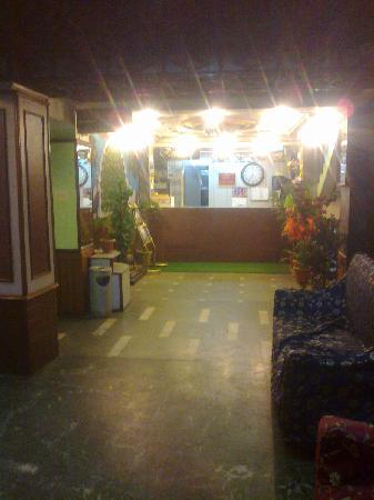 Hotel Mohit: Reception Area...