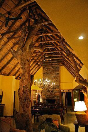 Tuningi Safari Lodge: The main lodge building