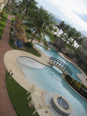 El Roble, Costa Rica: view from our balcony