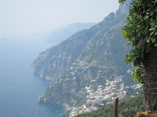 Your Tour in Italy by Aldo Monti : The view from our restaurant on the Amalfi Coast