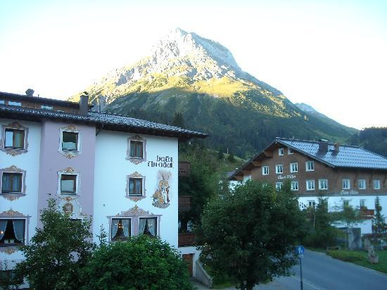 Hotel Gotthard : view from balcony