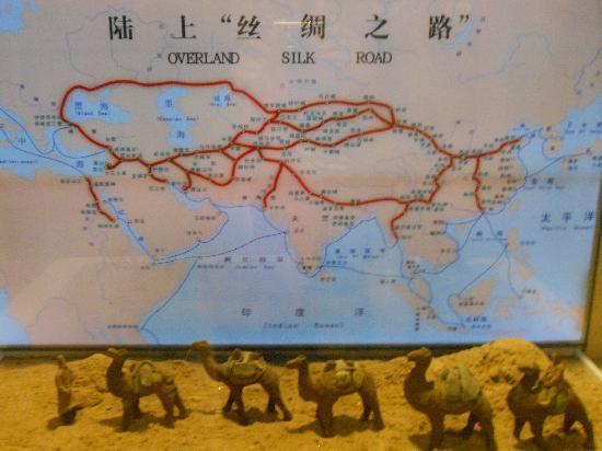 Suzhou Silk Museum: Silk museum: silk road