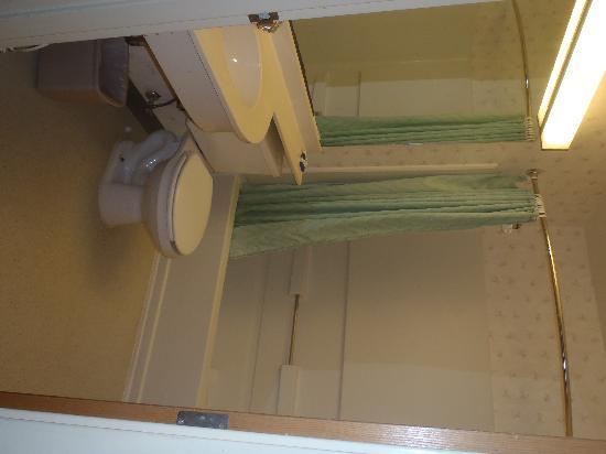 جاكسونفيل بلازا هوتل آند سويتس: Jacksonville PLaza Bathroom