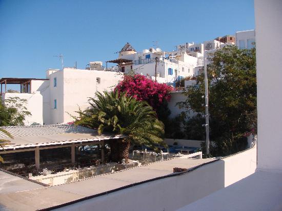Ξενοδοχείο Carbonaki: view from our room's patio