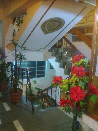 Hotel Mohit: Staircase...