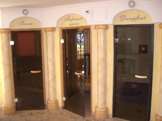 Stegerbraeu: Sauna