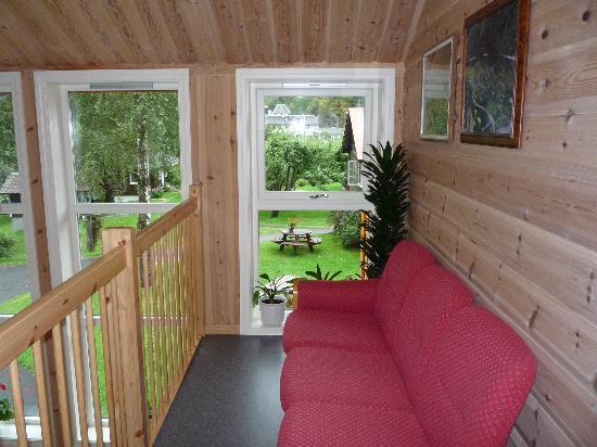 Flam Camping and Youth Hostel : un altro spazio comune