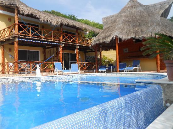 Piscina picture of hotel la joya isla mujeres tripadvisor - Piscinas 7 islas ...