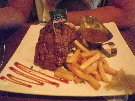 Horn Grill Steakhouse : Steak