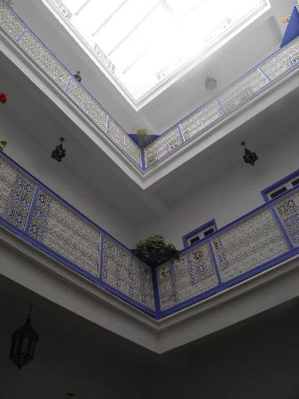 Riad Amana: Balconies