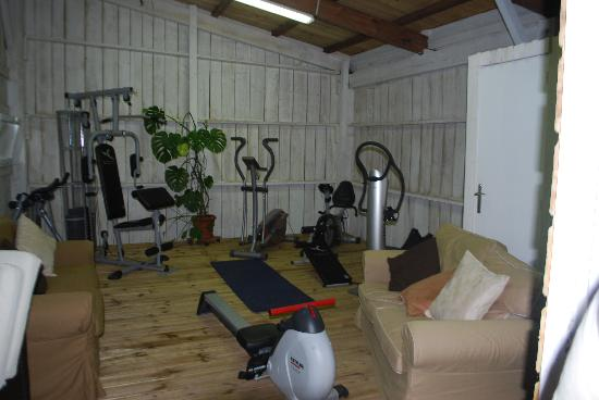 Domaine de Raba: The amazing fitness room!!!!