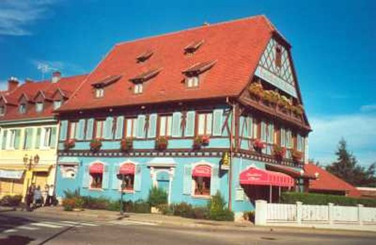Cernay, France : Hôtel-restaurant