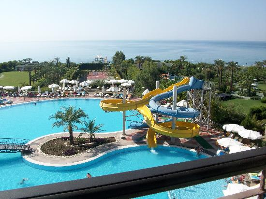 SENTIDO Turan Prince: view from balcony