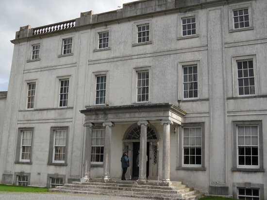 Strokestown, Ireland: the house