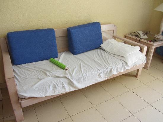 Jardin del Atlantico: El sofá para dormir!!!!!!!!