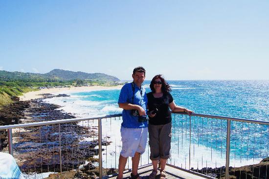 Aloha Private Tours: Sandy Beach view