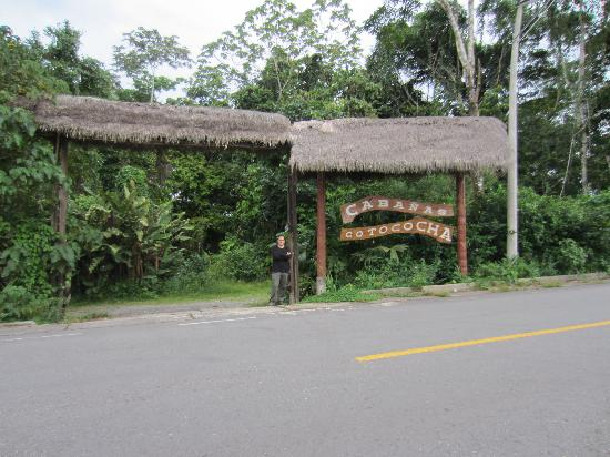 Cotococha Amazon Lodge : Main Gate