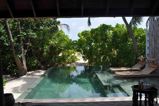 Anantara Kihavah Maldives Villas: mi piscina