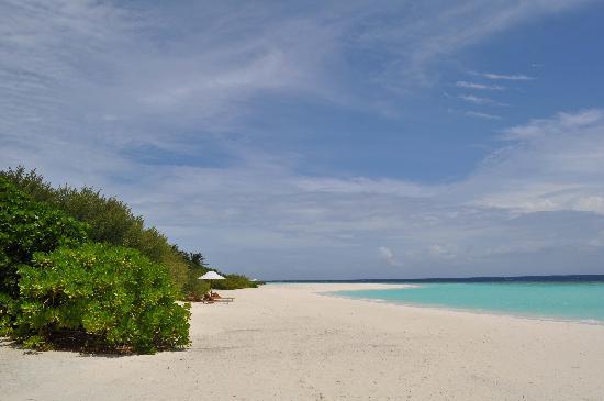 Anantara Kihavah Maldives Villas: mi zona de playa
