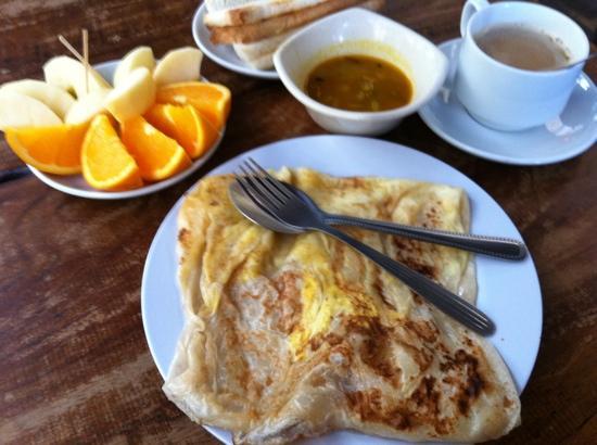 Classic Inn: breakfast