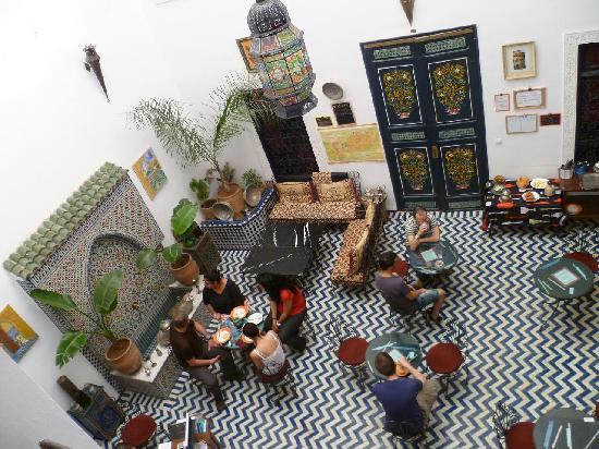 Funky Fes Hostel : The hall