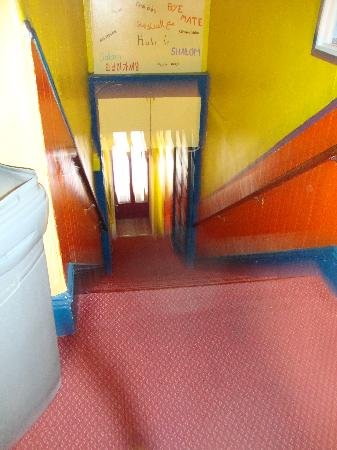 USA Hostels San Diego: stairs