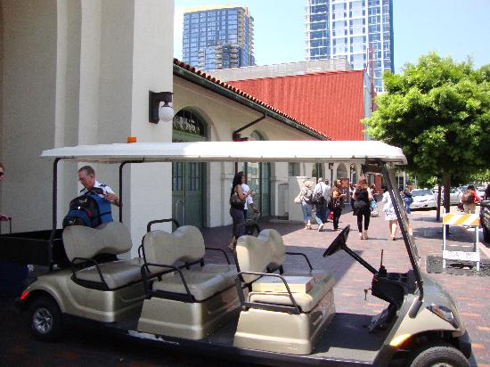USA Hostels San Diego: amtrak ride