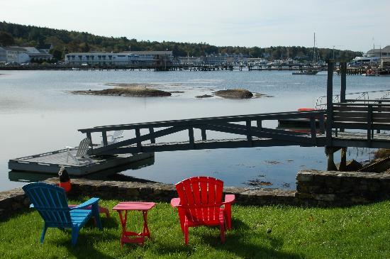 Harborage Inn on the Oceanfront: Dock view