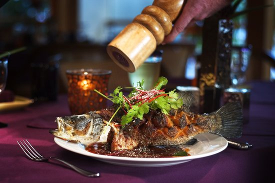 Tamarind : Whole Crispy Baby Barramundi