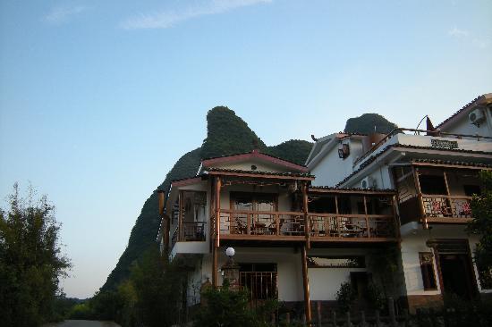 Yangshuo Phoenix Pagoda Fonglou Retreat: 我住的二樓房間
