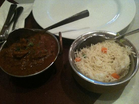 Tandoori Kona : Goat Curry