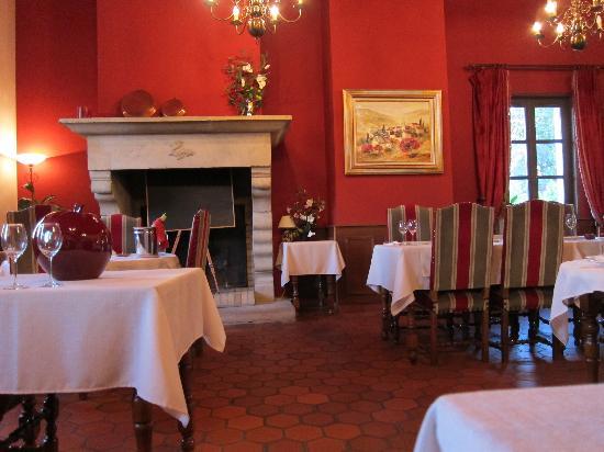 Restaurant Le Charme : Dining room