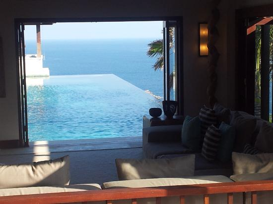 The Ungasan Clifftop Resort: view from one of the rooms