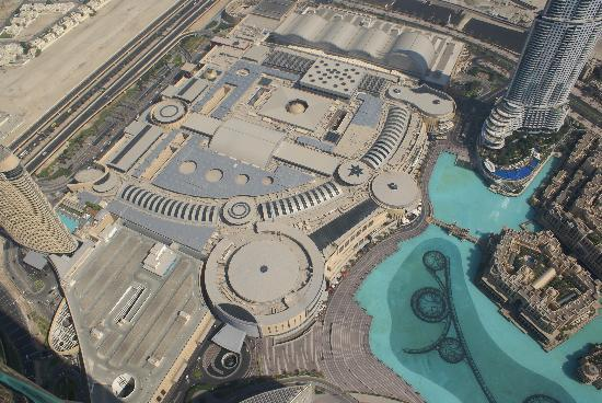 The Dubai Mall: View Of Roof Of Dubai Mall (huge!) From The