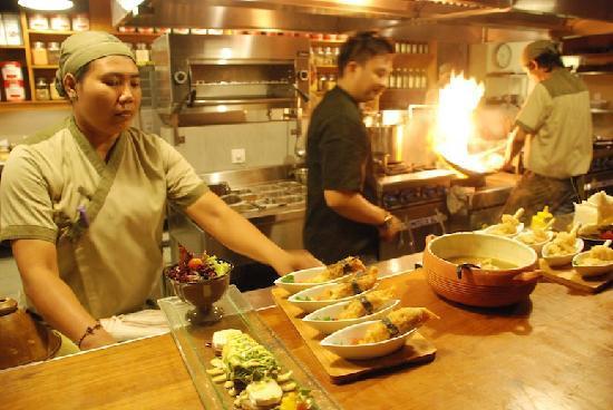 Khaima Restaurant: Sensational food presentation