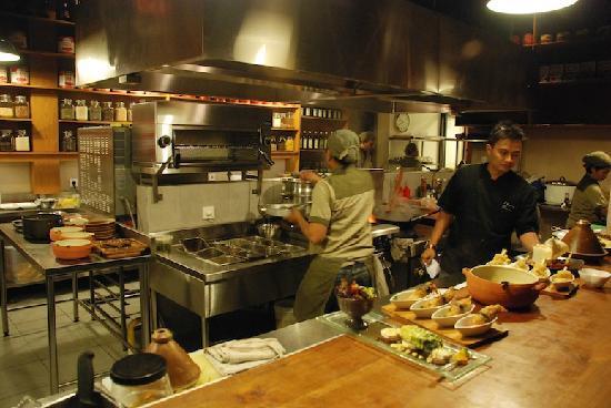 Khaima Restaurant: Khaima kitchen