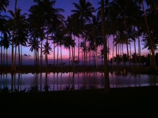 Wadduwa, Sri Lanka : perfect sunset!!