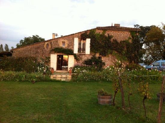 Le Cros B&B: Back of House from garden