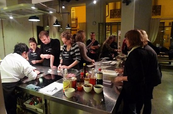 Cooking classes in Valencia in Bonnie's kitchen Appetite