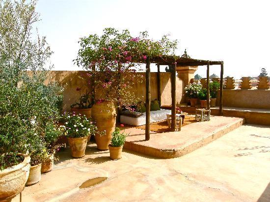 Dar Pangal : Terraza