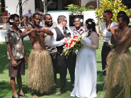 Lomani Island Resort: our wedding(lomani)
