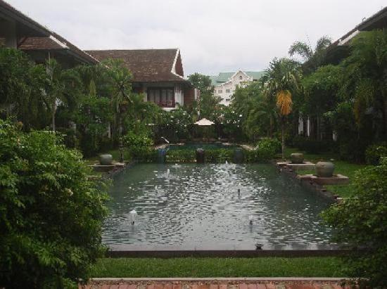 โรงแรมกรีน พาร์ค บูติค: The famous garden!
