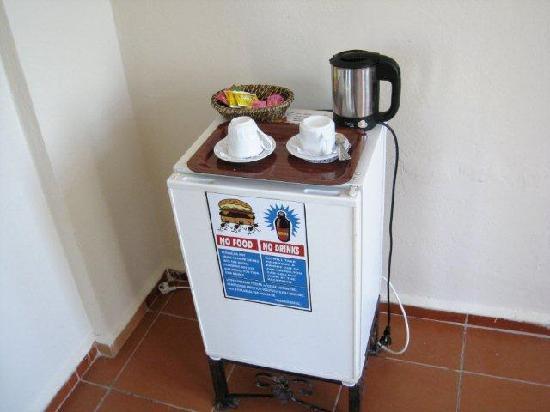Dalyan Hotel Palmyra: fridge 208