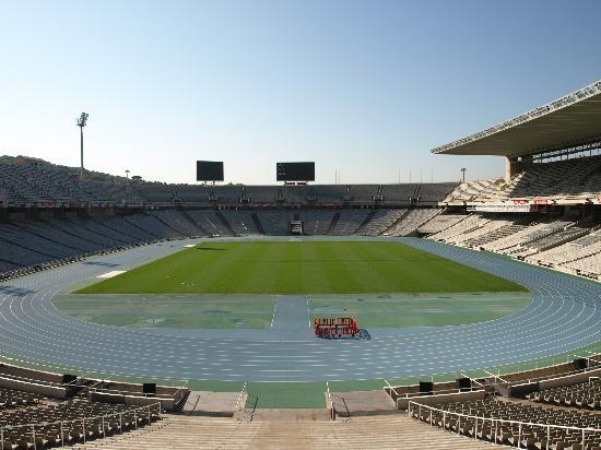 Barcelona Rooms 294: Olympic stadium