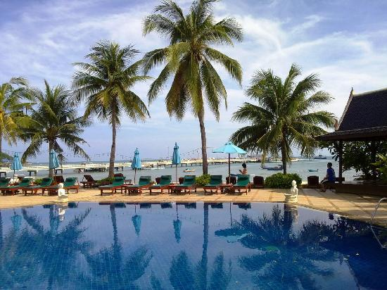 Siam Bayshore: Bayside pool