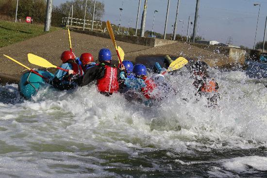 Nene Whitewater Centre : You will get wet!!