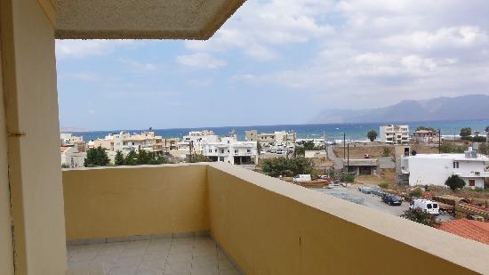 Mirtilos Studios & Apartments: Balcone