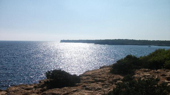 IBEROSTAR Club Cala Barca : Amazing views from the cliff top
